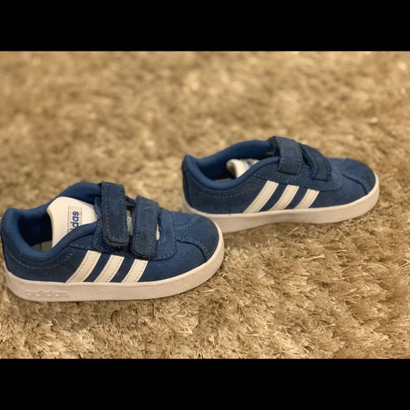 Blue Suede Sneakers Toddler Size